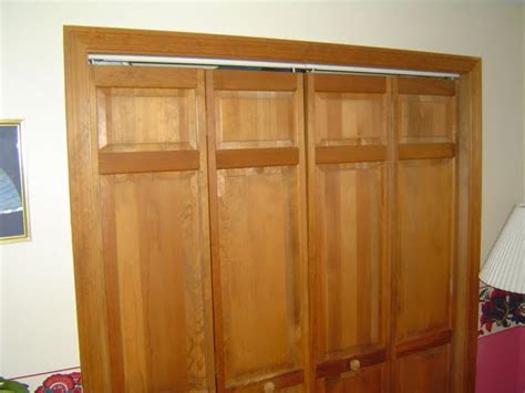 how to replace bifold closet doors