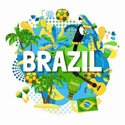 Brazil Carnival Poster Vector Clipart Graphics Vectors