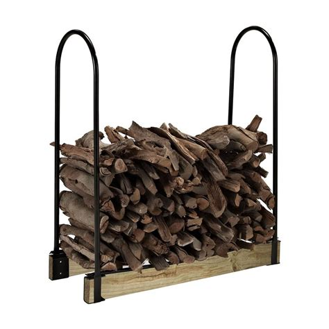 wood rack lowes shop crosley furniture 43 75 in x 24 in x 14 75 in steel