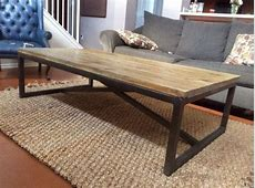 Coffee Table outstanding reclaimed wood and metal coffee