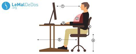 posture bureau comment s 39 asseoir devant ordinateur lemaldedos org