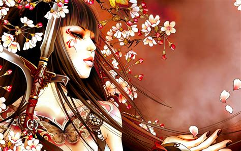 Asian Anime Wallpaper - 7 geisha hd wallpapers backgrounds wallpaper abyss