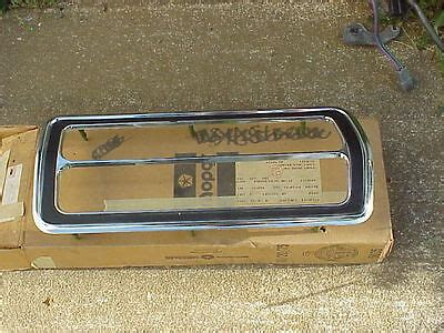 vehicle repair manual 1976 plymouth volare instrument cluster bezel 1976 1977 for sale