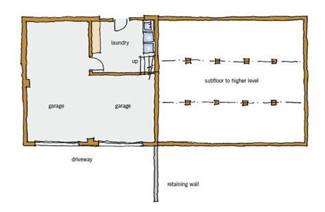 split level floor plans 1970 1970s typical building form branz renovate