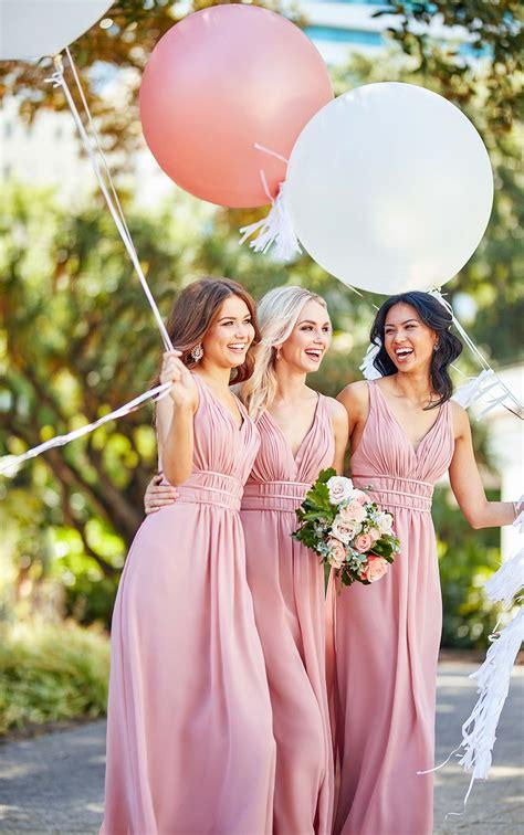 grecian style bridesmaid dress sorella vita