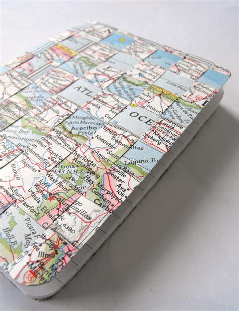 make a woven map notebook 187 dollar store crafts