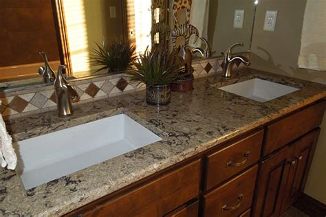 Rustic Kitchen Design Ideas - bathroom countertops liberty home solutions llc