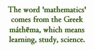 Interesting Math Facts