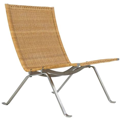 poul kj 230 rholm pk22 wicker chair e kold christensen for