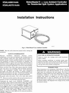 Carrier Controls And Hvac Accessories Manual L0604623