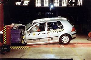 Official VW Golf 1998 safety rating