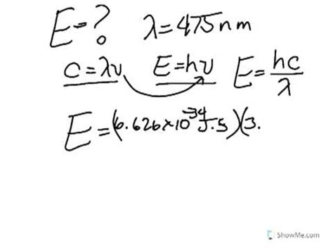 How To Chemistry Calculations Using Speed Of Light