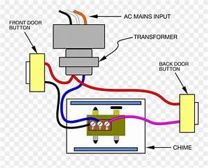 Wiring A Doorbell Push Image Royalty Free