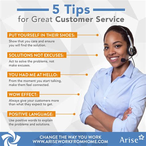 5 Tips for Great Customer Service | Arise Work From Home