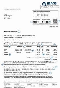 Bürobedarf Auf Rechnung Für Privatkunden : rechnungserkl rung swb energie und wasser stadtwerke bonn ~ Themetempest.com Abrechnung