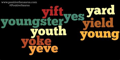 Positive Nouns That Start With Y