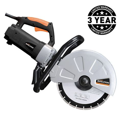 evolution power tools 15 12 in corded portable