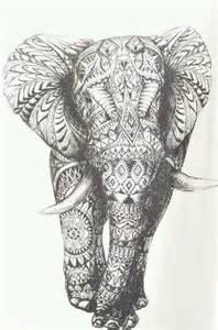 Cool Elephant Drawings