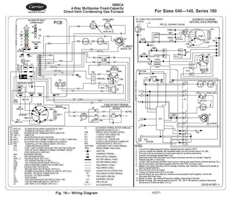 Gallery Carrier Furnace Wiring Diagram Download
