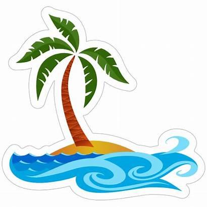 Beach Sticker Ocean Stickers Clipart Decals Carstickers