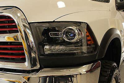 2013 2015 pair of dodge ram 1500 2500 3500 black projector headlights mopar oem ebay