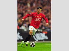 Cristiano Ronaldo in Manchester United v Tottenham Hotspur
