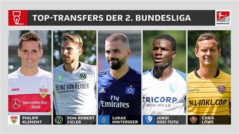 Alle spiele und die tabelle der 2. 2. Bundesliga   Zehn Top-Transfers: Klement, Zieler, Hinterseer und Co.