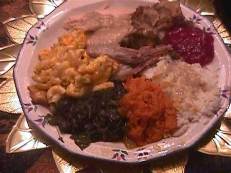 17 best ideas about dinner menu on pinterest. Traditional Soul food Thanksgiving Dinner | Soul food ...