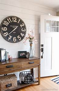 How to Decorate with Large Clocks