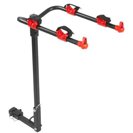 bike rack walmart 2 bike hitch mounted 1 1 4 quot or 2 quot receiver bicycle carrier