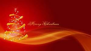 Merry Christmas Red HD Wallpaper » FullHDWpp