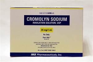 ... Cromolyn Sodium 20 mg / 2 mL Unit Dose, Inhalation Solution Nebulizer Cromolyn Inhalation Solution