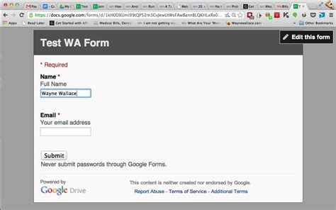 google forms sign up how to create an email sign up form using google forms