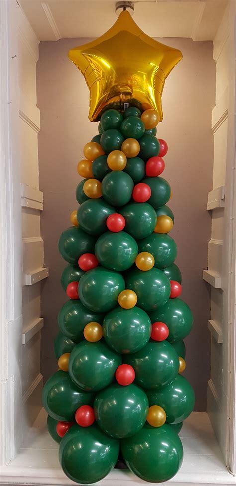 christmas tree   balloons balloon decor design