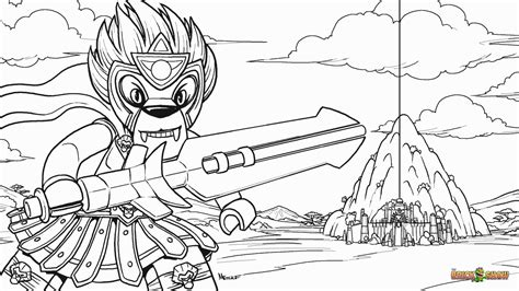 Free Chima Coloring Pages