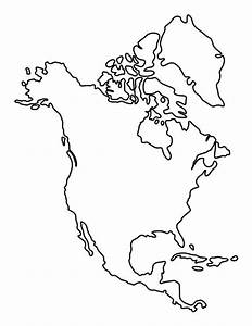 North America Pattern Use The Printable Outline For