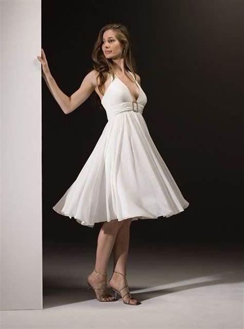 Short Halter White  Ee  Wedding Ee   Dress Styles Of  Ee  Wedding Ee    Ee  Dresses Ee