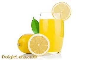 Лимонный сок как средство для похудения