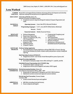 sample computer science resume entry level add linkedin With resume review software