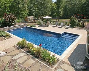 Inground pool designs and prices the types of inground for Inground swimming pool designs ideas
