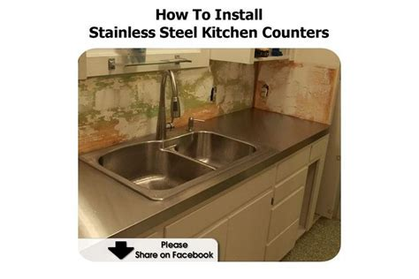 how to install stainless steel kitchen sink how to install stainless steel kitchen counters 9455