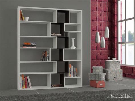White And Black Bookcase by Roscoe Bookcase White Black Contemporary Bookcases