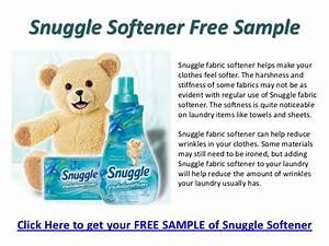 Snuggle fabric softener bear