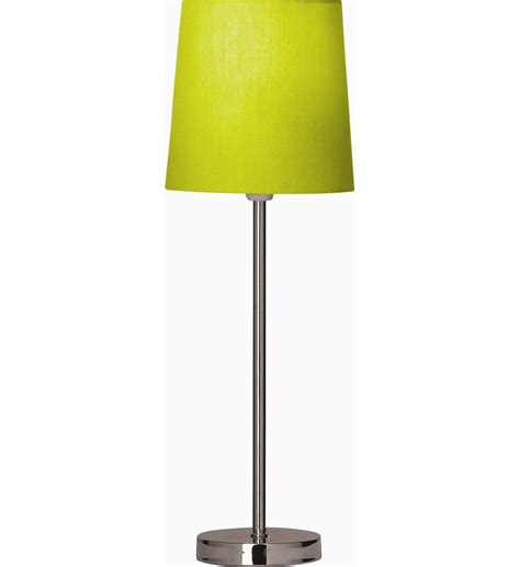 Set Of Blue Table Lamps lime green lamps lighting and ceiling fans