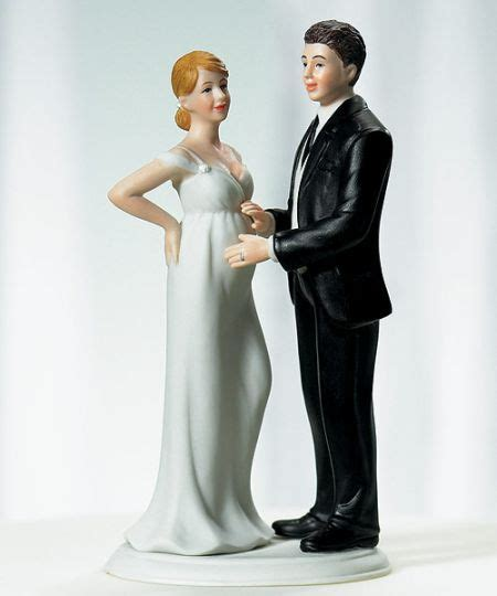 Mixed Couple Wedding Cake Toppers