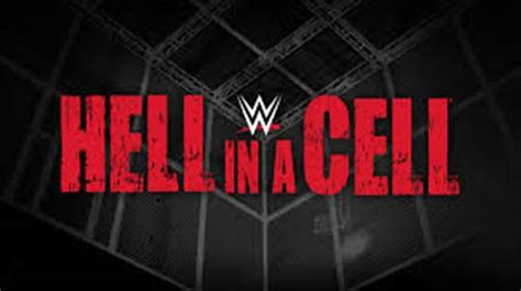 wwe hell   cell  date match cards venue results