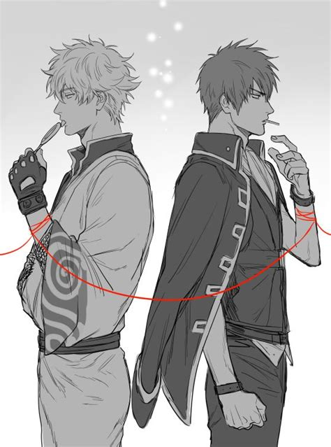 tags anime kanapy gin tama hijikata toushirou sakata