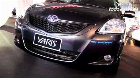 toyota yaris   en peru  video en full hd