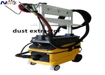 dry dust extractor  industrial purpose