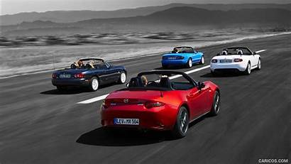 Mazda Mx Miata Generations Euro Spec Rear
